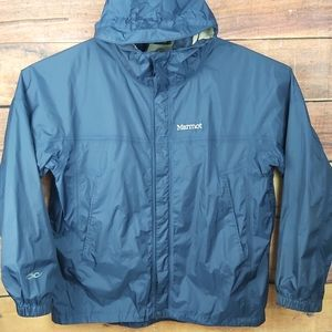 Marmot raincoat windbreaker outdoor hiking jacket